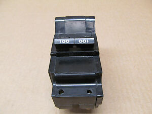 1 Fpe Nb2100 Circuit Breaker 100a 100 Amp 2 Pole Nb Federal Pacific 2p 240v