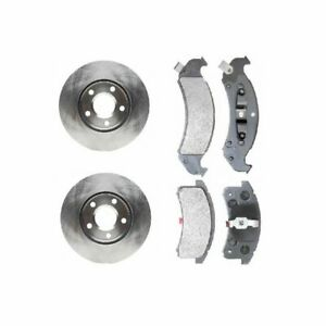 Front Disc Brake Pad Rotor Set Raybestos For Olds Chevy