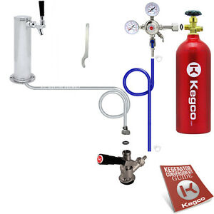 Standard Tower Kegerator Conversion Kit With 5 Lb Co2 Tank