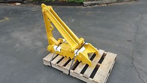 New 12 X 35 Heavy Duty Mechanical Thumb For Backhoes