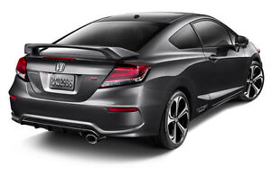 Primed Rear Trunk Spoiler Fits A 2012 2015 Honda Civic 2 Door Coupe