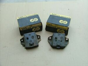 1965 70 Oldsmobile Motor Mounts Pair Rh Lh Nos Engine 88 98 Cutlass 442