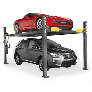 Bendpak Hd 9xw Four Post Lift 9 000 Pound Lifting Capacity