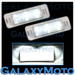09 12 Ford Flex 6k White Led License Plate rear Facing Running Lights Lamp