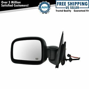 Power Heated Side View Mirror Folding Driver Left Lh For 02 07 Jeep Liberty