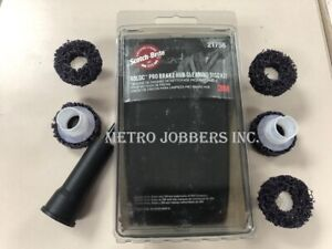 3m 21758 Scotch Brite Roloc Brake Hub Cleaning Disc Kit Replaces 7547 07547