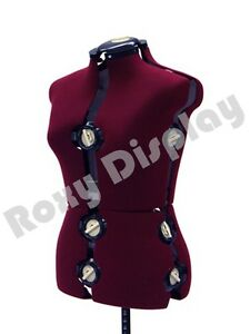 Adjustable Sewing Dress Form Female Mannequin Torso Stand Medium Size jf fh 8
