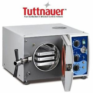 New Tuttnauer 1730 Valueklave Autoclave Free Shipping