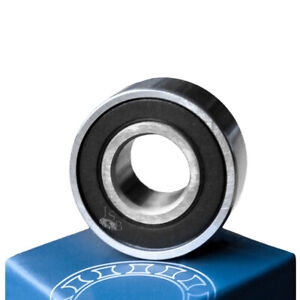 qty 100 R8 2rs Rubber Seals Bearing R8 rs Ball Bearing 1 2 X 1 1 8 X 5 16