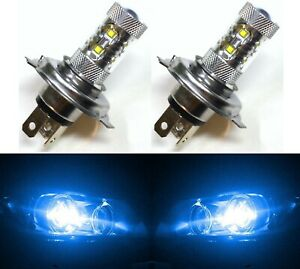 Led 50w 9003 Hb2 H4 Blue 10000k Two Bulbs Head Light Replace Show Use Off Road