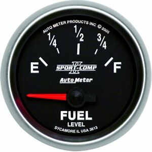 Autometer Fuel Gauge Gas New 3613