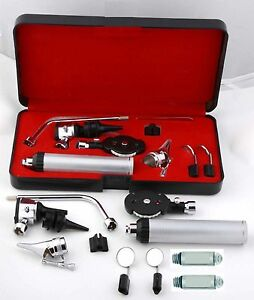 Veterinary Otoscope Opthammoscope Diagnostic Set