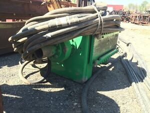 Ice 3060 Excavator Auger Or Crane Auger for Use With Hydraulic Power Pack