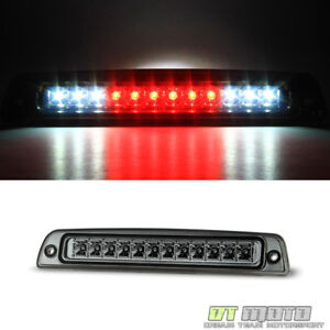 Smoke For 1994 2001 Dodge Ram 1500 2500 3500 Full Led 3rd Brake Light Cargo Lamp
