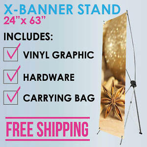 X banner Stand 24 x63