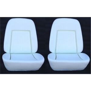 Speedway Motors Deluxe Front Bucket Seat Foam 1969 Chevy Camaro Pair