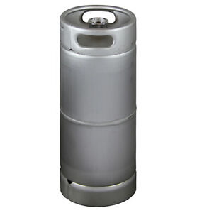 New Kegco 5 Gallon Commercial Sixth Barrel Keg Threaded D System Sankey Valve
