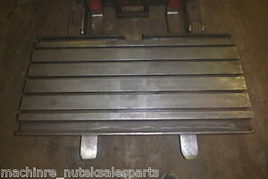 50 X 19 75 X 6 Steel Welding T slotted Table Cast Iron Layout Plate T slot