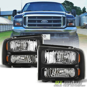 1999 2004 Ford F 250 F 350 Super Duty Excursion Conversion Harley Headlights Set