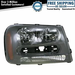 Headlight Headlamp Passenger Side Right Rh For 02 09 Chevy Trailblazer Ext