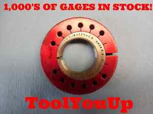 2 1 8 12 N 2a No Go Only Thread Ring Gage 2 125 P d 2 0630 Tooling Machine