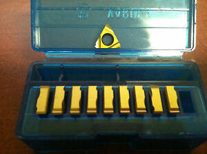 Vardex Carbide Laydown Threading Inserts 2er 0 7iso Vkx Qty 10