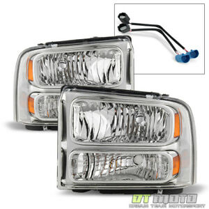 1999 2004 Ford Super Duty F 250 F 350 Truck Excursion Conversion Headlights Lamp