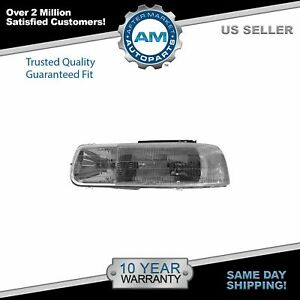 Headlight Headlamp Driver Side Left Lh For Chevy Tahoe Suburban Silverado Truck