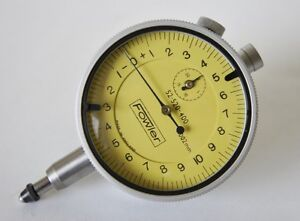 Fowler 5mm Dial Indicator 002mm Graduations England