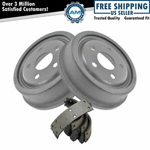 Rear Brake Drums Shoes Kit Set For Buick Chevy Oldsmobile Pontiac