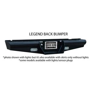 Ranch Hand Bbc110blsl Legend Rear Bumper for 11 14 Chevy gmc 2500hd3500silverado