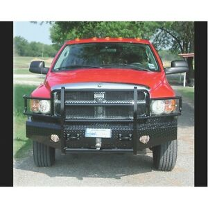 Ranch Hand Fsd031bl1 Front Bumper Replacement For Dodge Ram 2500 3500 2003 2005