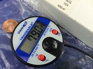 Vwr 37000 424 Traceable Full Scale Thermometer Ultra