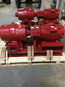 Fire Pump Bell Gossett Vsx Vsx 30hp New