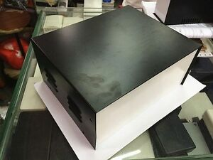 9 x7 5 x4 Black Diy Metal Electronic Project Box Transformer Enclosure Case