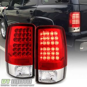 2000 2006 Gmc Yukon Xl Chevy Suburban Tahoe Lumileds Led Tail Lights Brake Lamps