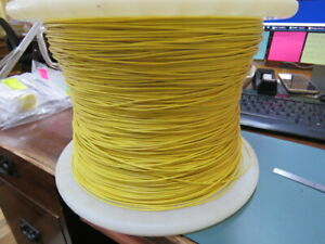 Atlas Wire Ul1007 20 4 20awg Hookup Wire Yellow 1 000 Ft