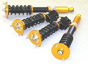 Fits Nissan 1995 1998 240sx S14 Full Coilover Suspension Set Gold