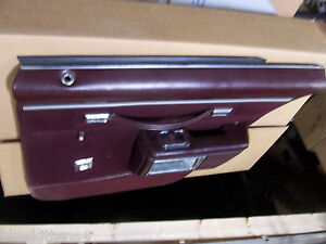 1986 Chevy Caprice Estate Wagon Right Rear Door Panel Armrest Used Oem Red
