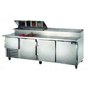 Leader 96 Commercial Refrigerated Pizza Prep Table Nsf Etl self contained