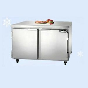 Leader 48 Commercial Refrigerated Work Top Cooler Low Boy self contained