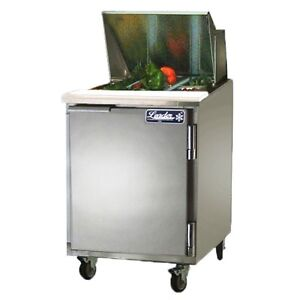 Leader 27 Commercial Bain Marie Sandwich Prep Table Cooler self contained