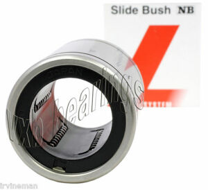 Lbd50 Nb 50mm Slide Bush Ball Bushing Linear Motion Bearing