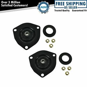 Front Upper Strut Mount Bearing Assembly Pair Set For I30 Q45 Altima Maxima