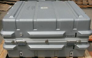 Hard Plastic Military Shipping Case 43 X 37 X 23