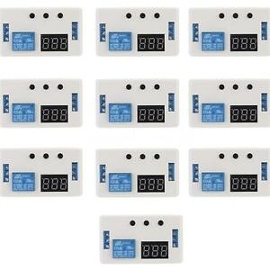 10x Dc 12v Led Automation Delay Timer Control Switch Relay Module With Case Hy41