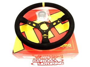 Momo Race 350mm Mod 07 Suede Steering Wheel
