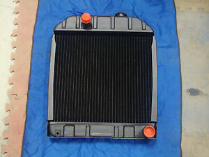 Ford Tractor New Radiator Assembly 2000 3000 4000 4610 W o Oil Cooler
