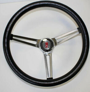 1969 93 Oldsmobile Grand Am Prix Cutlass 442 Grant Steering Wheel Black 15