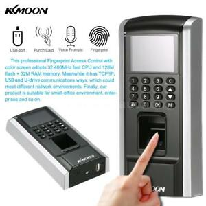 Fingerprint Access Control System Tcp ip Electric Rfid Card Reader 8d6o